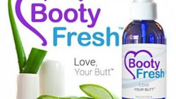 booty fresh spray