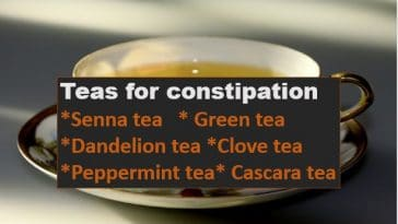 tea for constipation