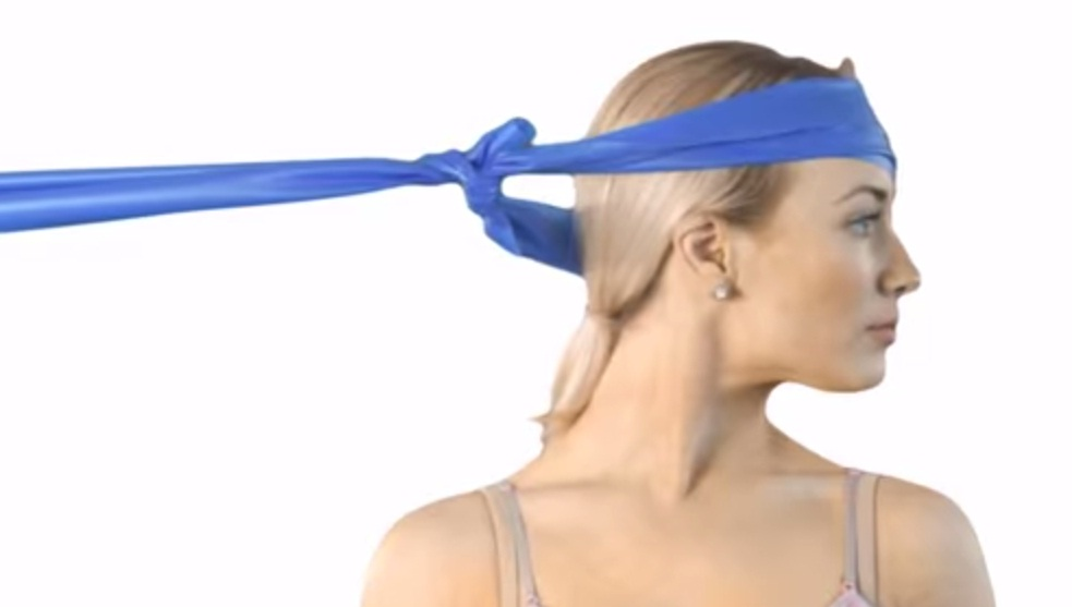 Flat Stretch Bands for neck exercise