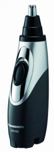 Panasonic ER430K Nose, Ear & Facial Hair Trimmer Wet/Dry with Vacuum Cleaning System