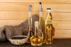types of cooking oil
