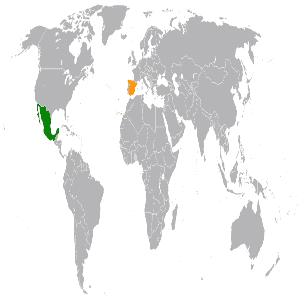 Mexico and Spain