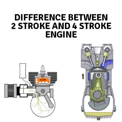 2 stroke vs 4 stroke engine