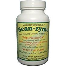 500 ct Bean-zyme anti-gas