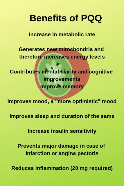 BENEFITS OF PQQ