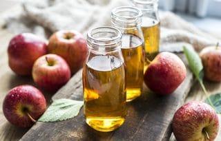 example of organic acid vinegar